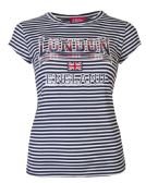 Womens Stripe London T-Shirt